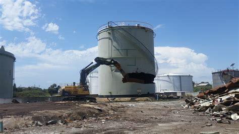 newcastle terminal demolition liberty industrial