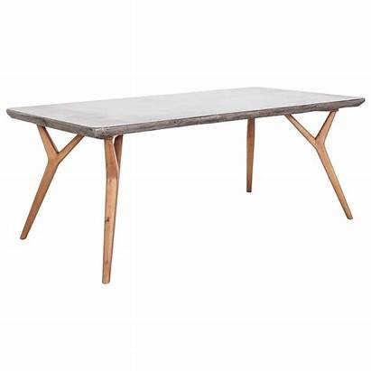 Dining Concrete Tables Century Mid Amari Moe