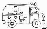 Coloring Pages Ambulance Printable Bus Transportation Transport Land Emergency Sheets Template Preschool Vehicles Printables Helpers Truck Books Getcoloringpages Sheet Crafts sketch template