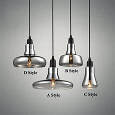 Aliexpresscom  Buy Modern Smoke Gray Glass Pendant