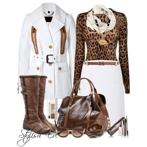 Leopard Winter 2013 Outfits for Women by Stylish Eve | Stylish Eve