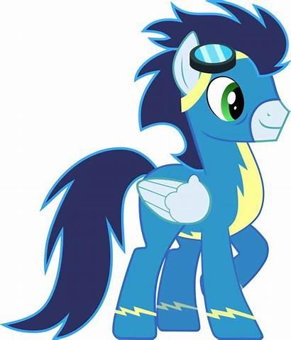 Mlp Soarin Pony Dash Rainbow Friendship Characters
