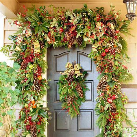 creative christmas front door decorations