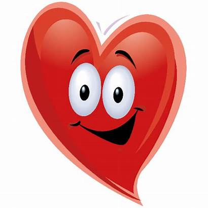 Clipart Heart Funny Clip Happy Face Hearts
