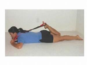 Stretch it out strap: quad stretch | Stretching, Rolling ...