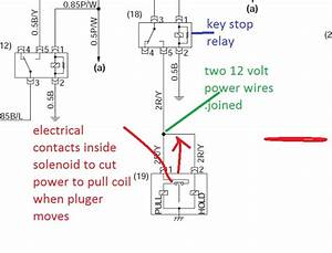 Fuel Shut Off Solenoid Wiring Diagram  I Have A 1993 Ford L8000 That The Fuel Shut Off Solenoid