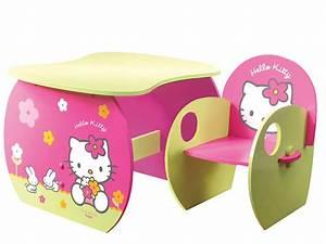 amazing ensemble bureau tabouret hello kitty prix pas cher With chambre bébé design avec acheter champs de fleurs pas cher