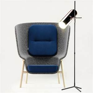3D asset DeVorm Pod PET Felt Privacy Chair