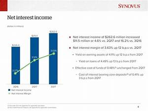 Synovus Financial Corp. 2017 Q3 - Results - Earnings Call ...