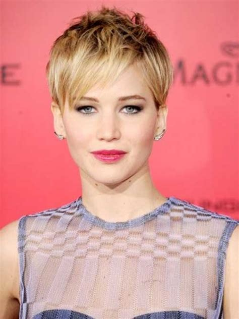 jennifer lawrences  short hairstyles  copy