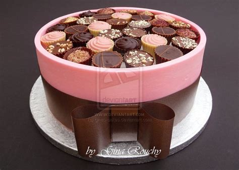ideas  chocolate box cake  pinterest kit