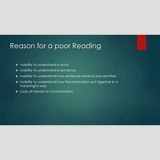 Ppt On Reading Skills By Harshid Panchal