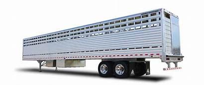 Trailer Livestock Semi Trailers Floor Straight Aluminum