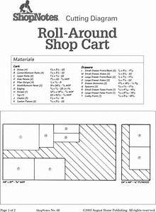 Build Roll Around Shop Cart At Home Diy Plan