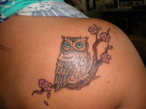 Kirsten Alyse Chronicles Owl Tattoos!! Rad