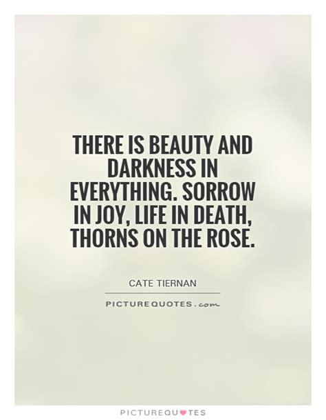 beauty  darkness   sorrow  joy