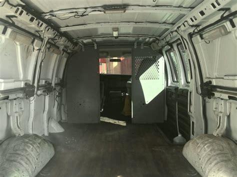 van into office moving inside cargo interior mobile chevy diy metro filmmaker transformed studio craigslist custom background floor walls light