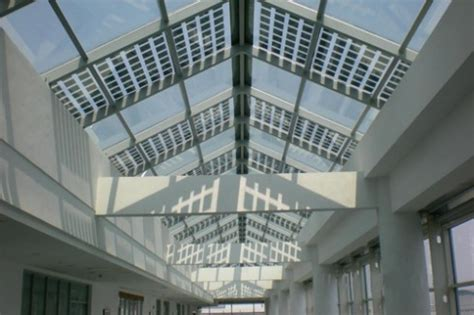 largest transparent photovoltaic roof