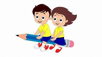 Writing Clipart Kindergarten Children Transparent Clip Child
