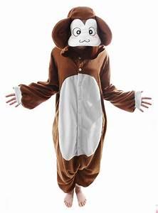 Warmes Halloween Kostüm : cozysuit affe kigurumi kost m affenkost m onesie ~ Lizthompson.info Haus und Dekorationen
