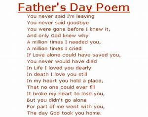 Fathers Day Poems Inspirational Quotes | Happy Fathers Day ...