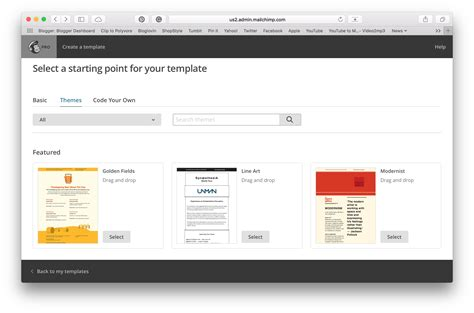 Mailchimp Mobile Templates by Email Marketing Mailchimp And Free Templates Levelten