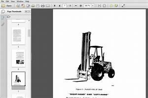 Case 584 585 586 Power Shuttle Forklift Operators Manual