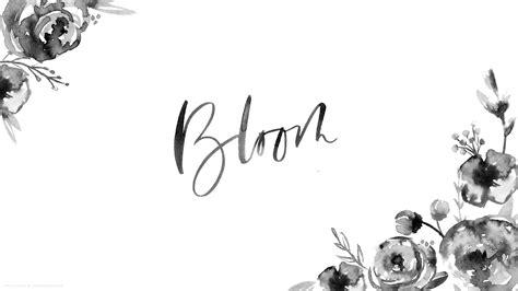 Calligraphy Wallpaper Desktop by A Watercolor Floral Desktop Wallpaper Saffron Avenue