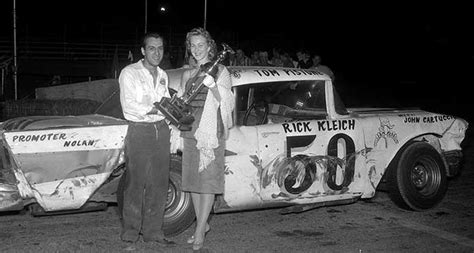 stock car racer rick kleich  speed sport