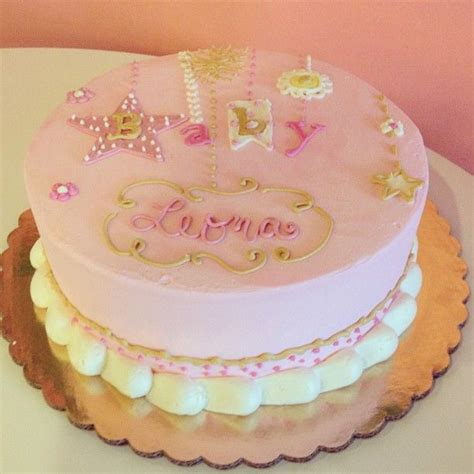 pink and gold baby shower cake pink and gold baby shower cake 2tarts bakery new