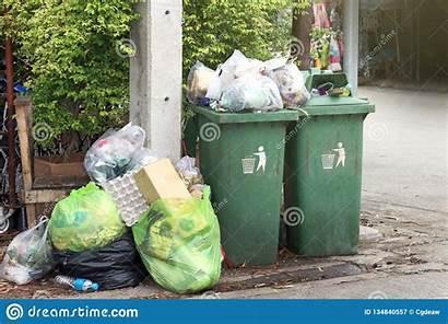 Garbage Plastic Trash Pile Dump Waste Bin