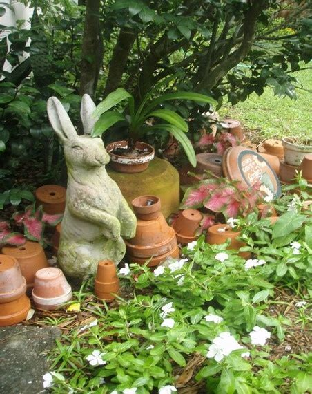 bunny garden statue 1000 images about bunny statues on gardens a