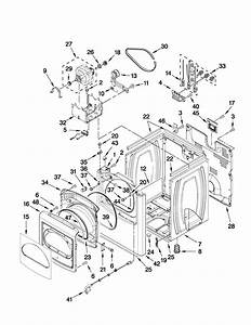 Whirlpool Wed8600yw0 Dryer Parts