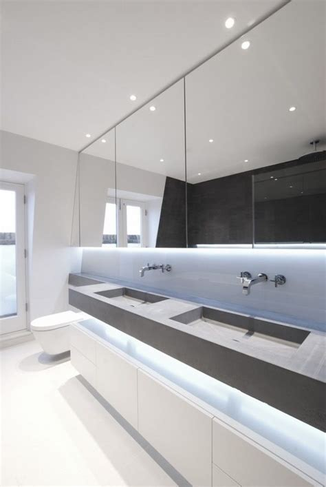 Modern Bathroom Led Lighting by 1000 Images About Bathroom Lighting Inspiration On