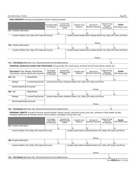 Irs Form 443a by Form 433 A Instructions Images Form 1040 Instructions