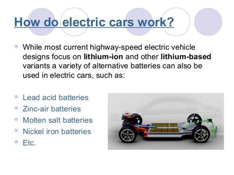 How Electric Cars Work by Electric Car By Daniel Krasimirov Yeray Romera