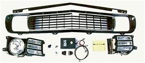 1969 Camaro Electric Rs Grille Kit  Rally Sport Conversion
