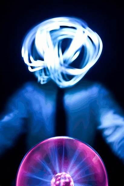 Electricity Loop Electric Gifs Plasma Dark Halloween