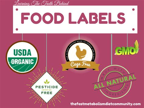 label cuisine learning the food labels