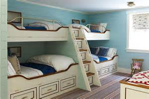 nautical bunk beds black built in bunk beds with black shiplap trim cottage bedroom