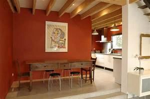Rouge Brique Avec Quelle Couleur : couleur salon ~ Melissatoandfro.com Idées de Décoration