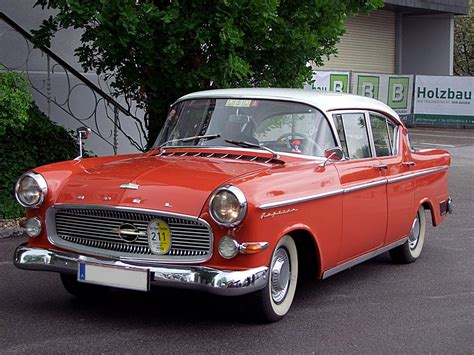Opel Pl by Opel Kapit 196 N Pl 80ps 2485ccm 145km H Baujahr1959 Lt