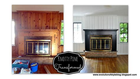 knotty pine no more evolution of style