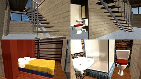 House Buildup Flythrough 3d Model
