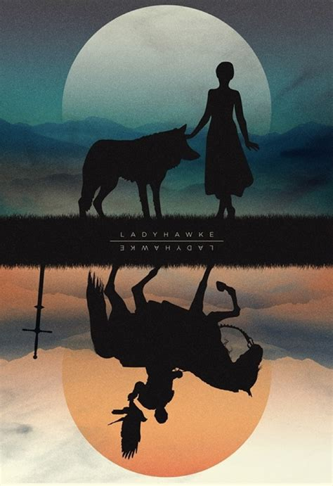 Ladyhawke (1985) ~ Alternative Movie Poster by Javier ...