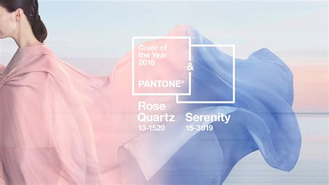 color of the year 2016 pantone color of the year for 2016 rose quartz serenity fashion trendsetter
