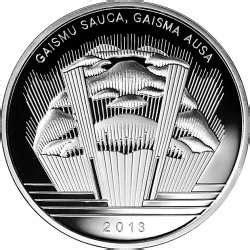 Jāzeps Vītols - Kolekcijas monētas - Latvija