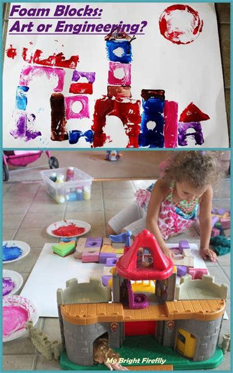colorful creepy castle printing with blocks preschool 125 | c03166a352a4ede61a3b8bcf7ead1a71