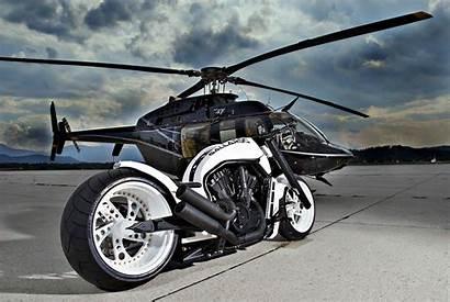 Rod Harley Davidson Custom Gallardo Helicopter Wallpapers