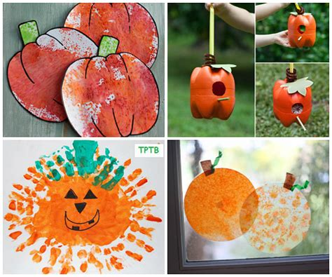easy pumpkin crafts for to make this fall crafty 524 | pumpkin crafts for kids
